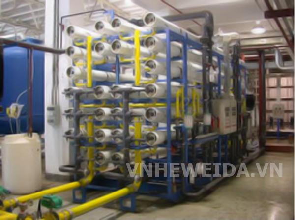 Large type filtered water producing system