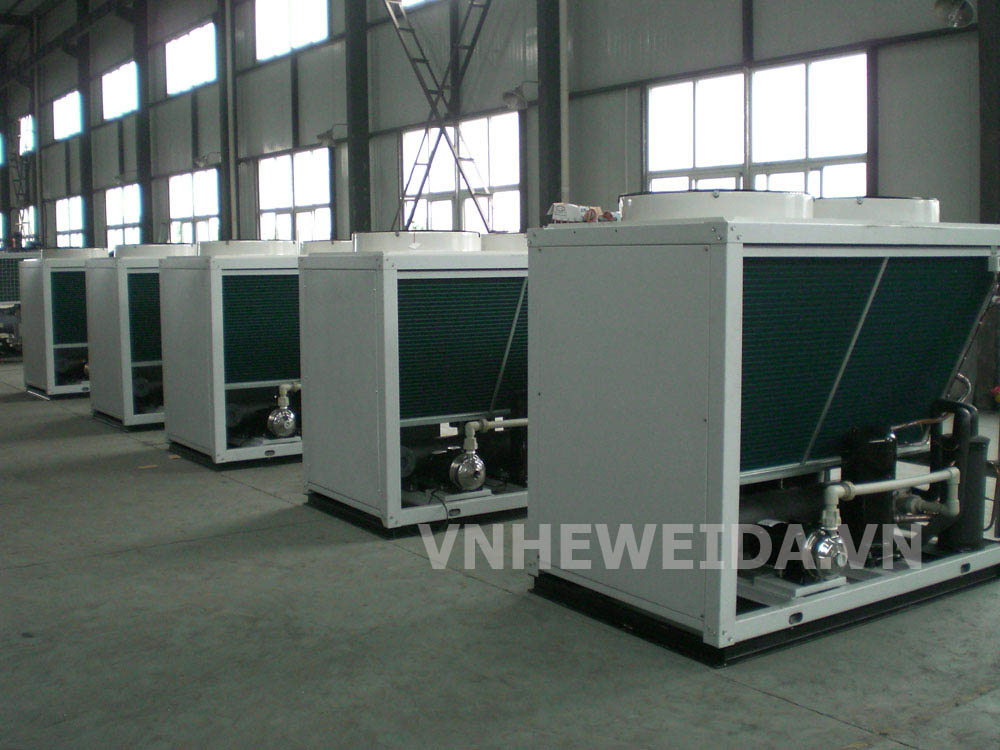 Currently the water chiller manufacturing