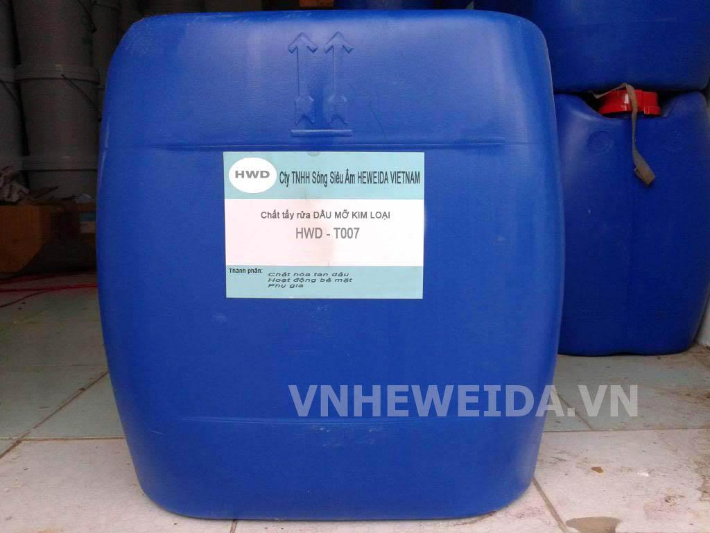 Chất tẩy rửa kim loại dầu mỡ