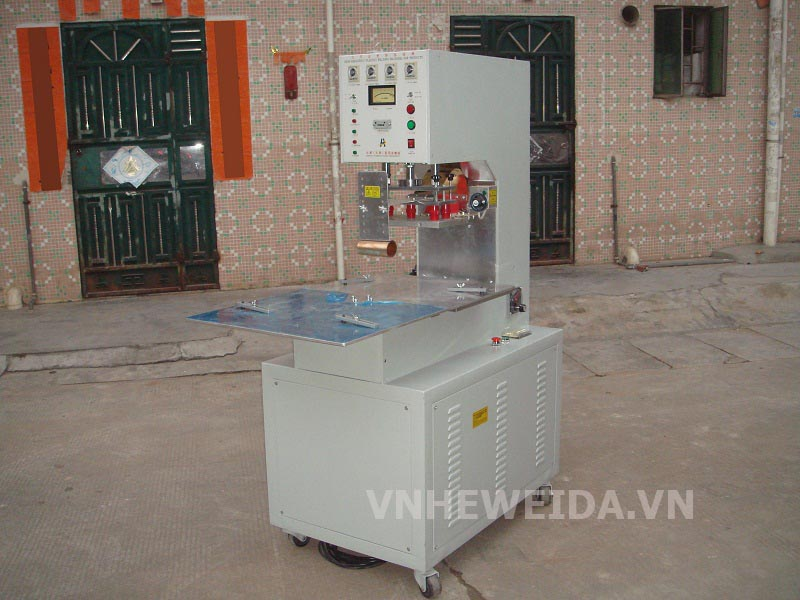 High-frequency welding machine head unit