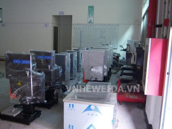 Máy hàn nhựa sóng siêu âm nhập khẩu