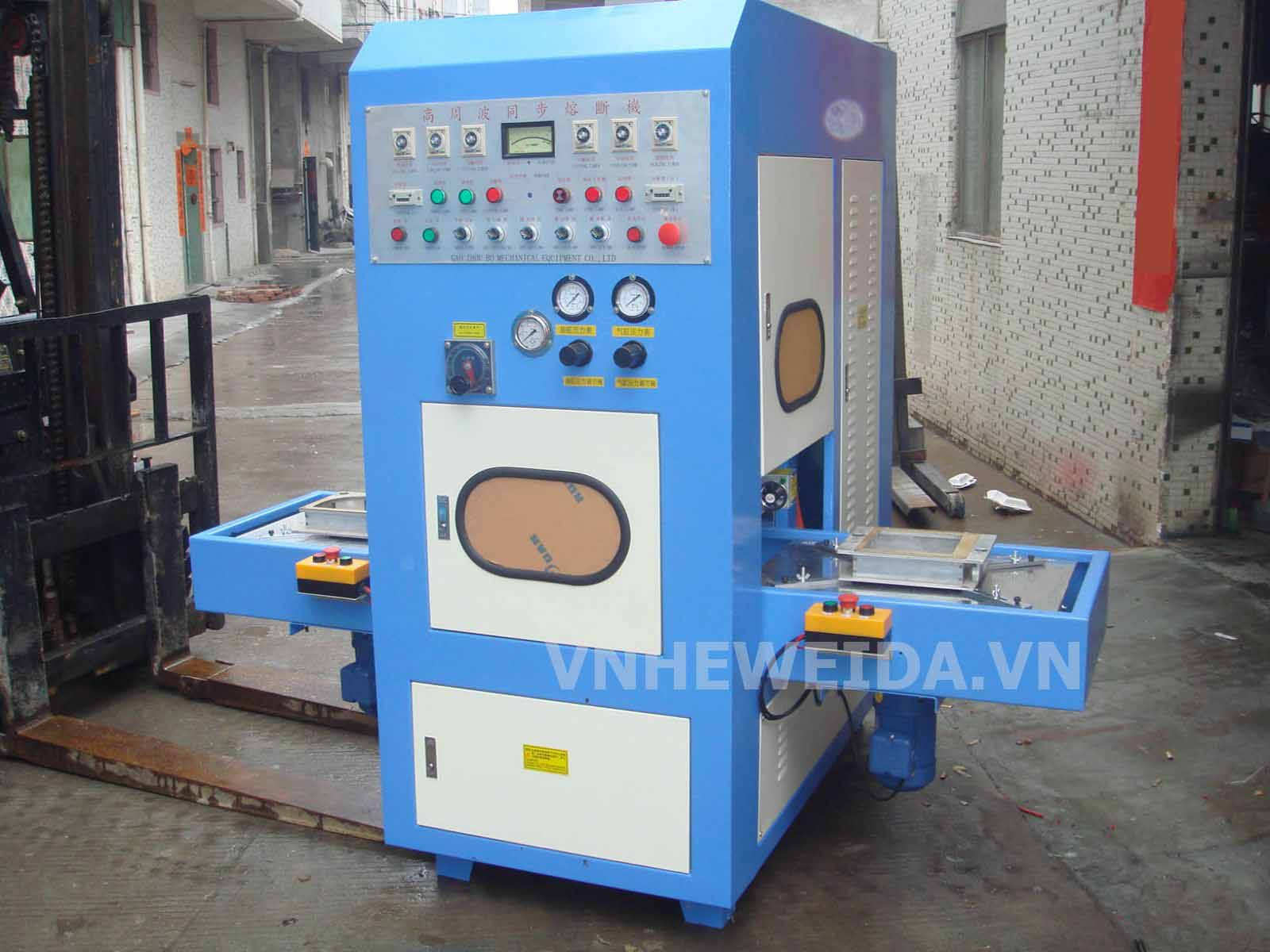 High-frequency plastics welding machine environmentally friendly