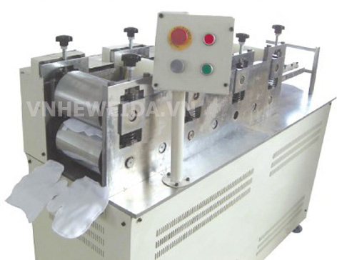 Gloves automatic machines with ultrasonic