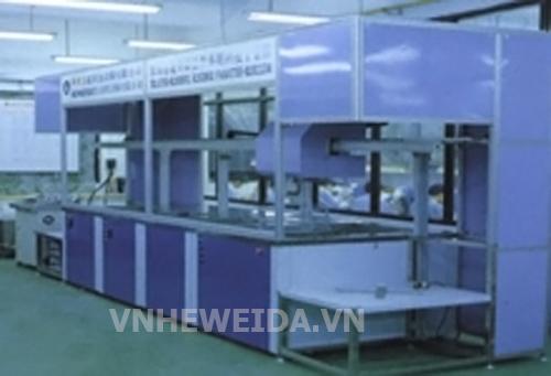 Máy rửa khung titanium