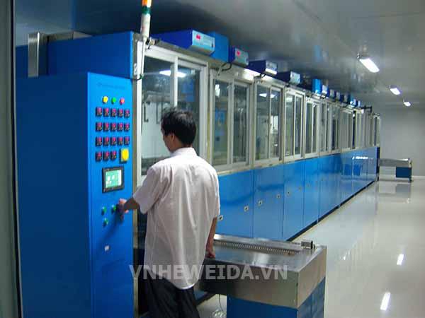Máy rửa sóng siêu âm tự động