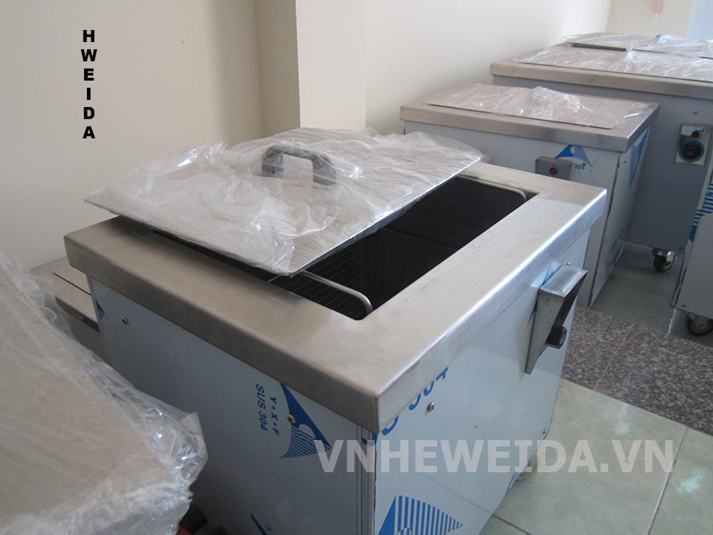 Máy rửa thùng đơn phi tiêu chuẩn