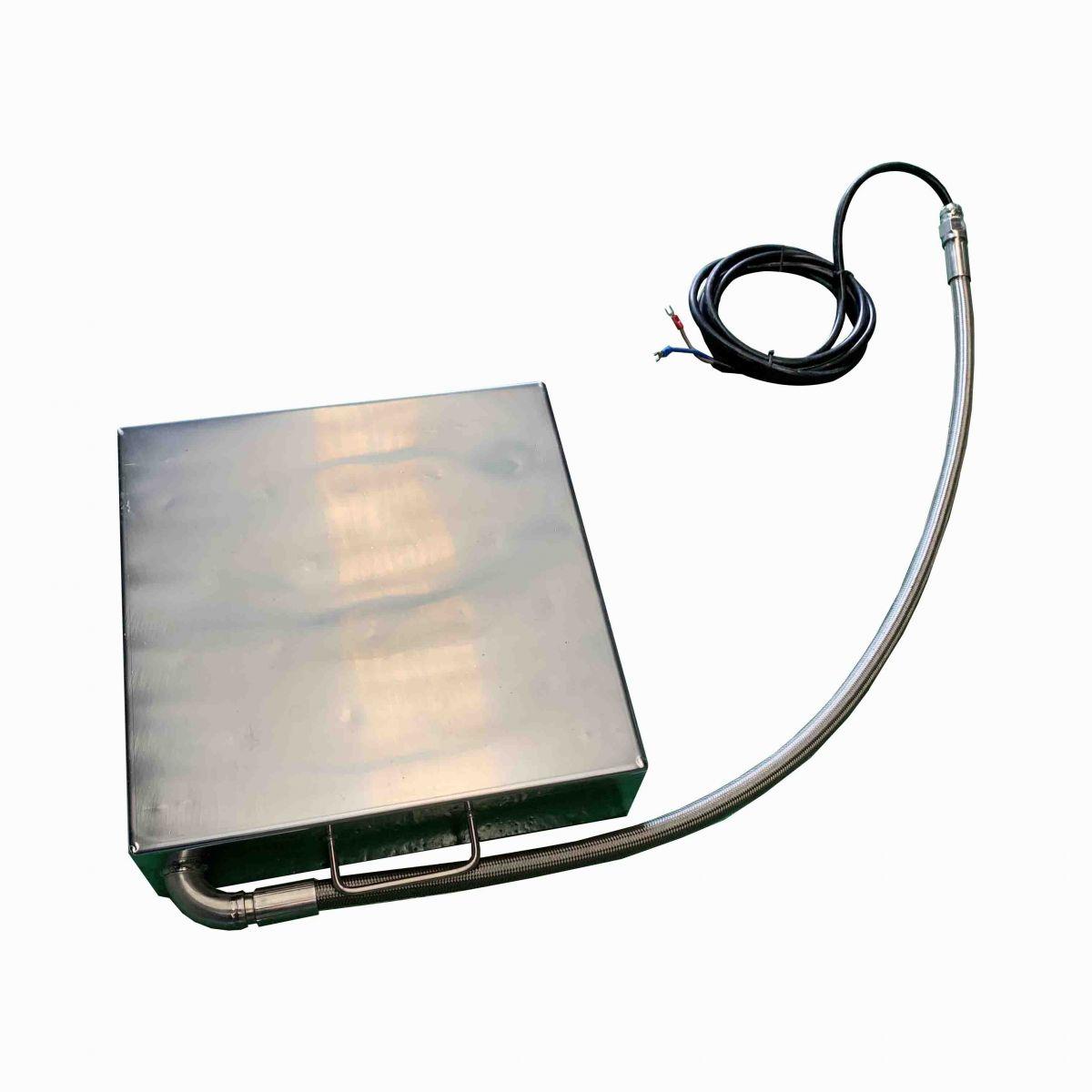 Input-type ultrasonic vibrating plate