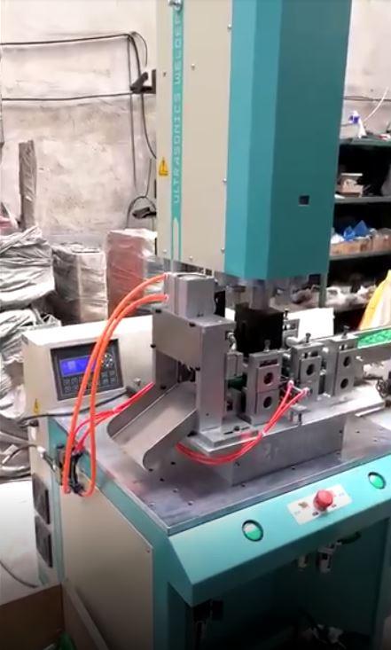 自动洗碗布焊接切割机